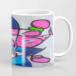 Tripping-Out Kitty Coffee Mug