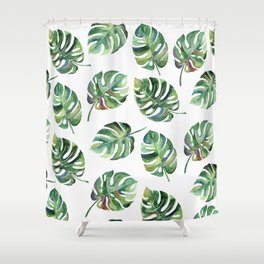Leaves Everywhere Shower Curtain
