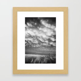 Storm Field Framed Art Print