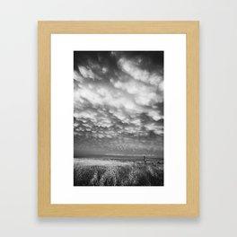 Storm Field Framed Art Print