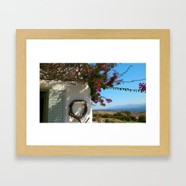 Mediterranean Framed Art Print
