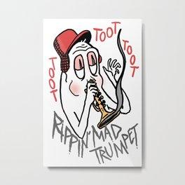 Tooot Metal Print