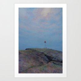 Peggy's Cove (1) Art Print