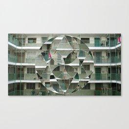 High-density Housing Canvas Print