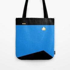 Star Trek: TNG Blue Commander Uniform Tote Bag