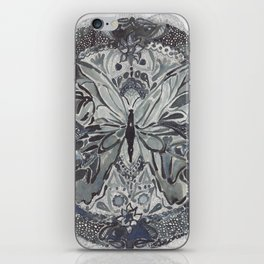 Butterfly lace iPhone Skin