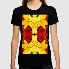 """A Gathering of Lilies"" Remix - 1 (4-1) [D4465~12] T-shirt"