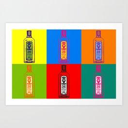 bombay Gin Art Print