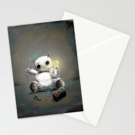 March of Robots: Day 2 Stationery Cards