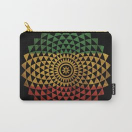 Rasta Flower of Life Carry-All Pouch