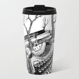 Magpie,  letterhief Travel Mug