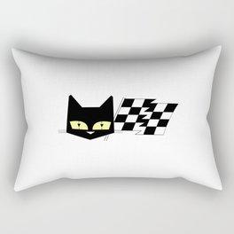 Vintage Cat 2 Rectangular Pillow
