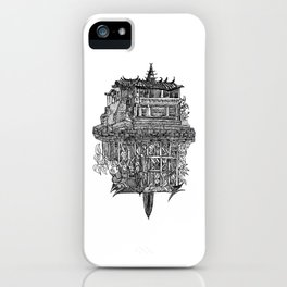 Leaves Foundation iPhone Case