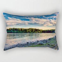 Manitou Beach Bainbrige Island Rectangular Pillow