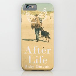 After Life poster, Ricky Gervais, tv series, after-life, British black comedy iPhone Case