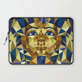 Golden Tutankhamun - Pharaoh's Mask Laptop Sleeve