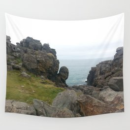 St Ives cliff Wall Tapestry