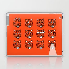 Eyes Of The Tiger Laptop & iPad Skin