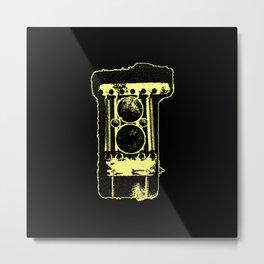 Camera???? Metal Print