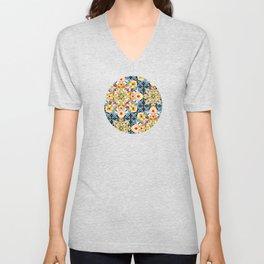 Elizabethan Pastel Mandala Unisex V-Neck