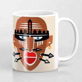 Tribal Mask II Coffee Mug