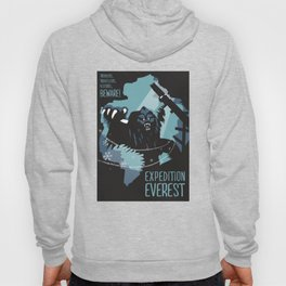 Expedition Everest Attraction Poster Hoody