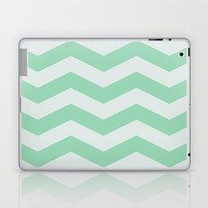 Wintermint Chevron Laptop & iPad Skin