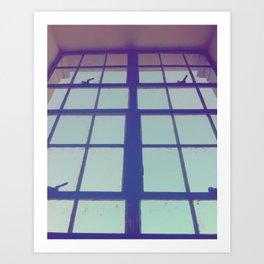 the view Art Print