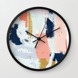 Beneath the Surface 2 Wall Clock