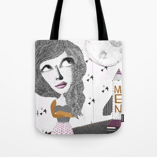 If we can put one man on the moon... why not them all? Tote Bag