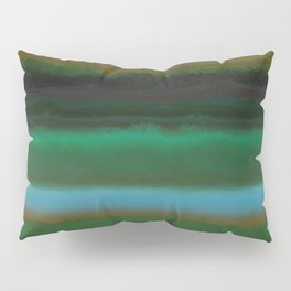 Summer Sunset Landscape Pillow Sham