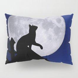 Moon Cat Pillow Sham