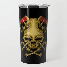 Skull Axe Travel Mug