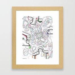 Body Cells  Framed Art Print