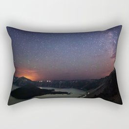 Crater Lake Galaxy Rectangular Pillow