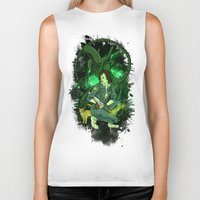 ripley Biker Tanks featuring Ripley by Ginger Breo