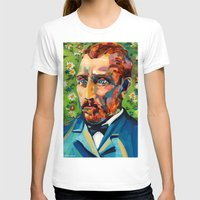 van gogh T-shirts featuring Van Gogh by Esteban del Valle
