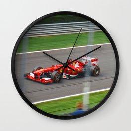 Fernando Alonso - 2013 Gran Premio d'Italia Wall Clock