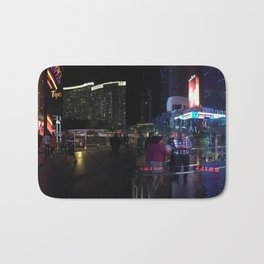 Las Vegas night life Bath Mat