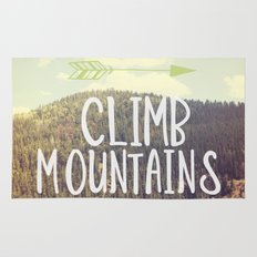 Climb Mountains Rug