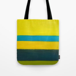 yellow blue Tote Bag