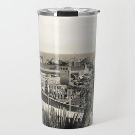 Santa Monica Pier Travel Mug