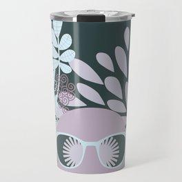 Afro Diva : Sophisticated Lady Pastel Travel Mug