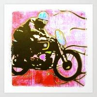 moto Art Prints featuring moto by jasondavis
