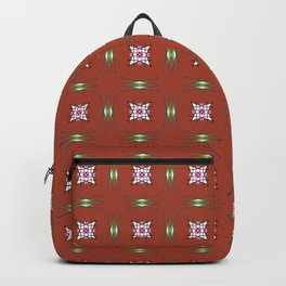 Old Asia print design Backpack