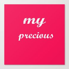 My precious! Canvas Print