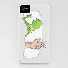 Crazy night iPhone (4, 4s) Slim Case