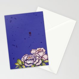 The mysterious love Stationery Cards