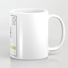 Oxygen - chemical element Coffee Mug