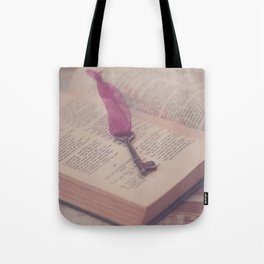 The Key to Imagination Tote Bag